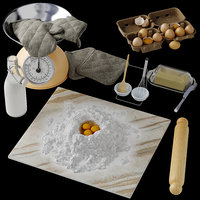 3D kitchen decorative