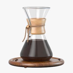 chemex cup coffee maker 3D