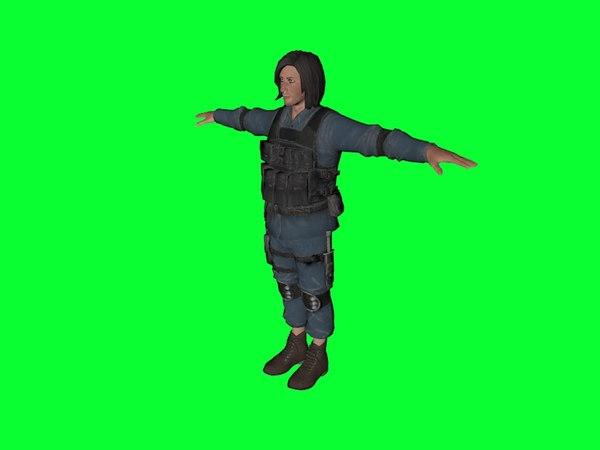 man swat 3D