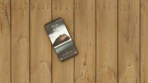 phone modeled 3D model