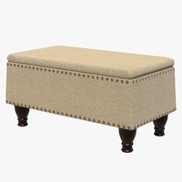 3D bench sofa furniture seat chair model