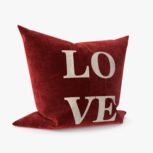 pillow love model