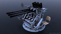 3D model type 96 25mm gun