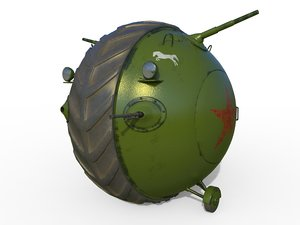 3D tank ball model