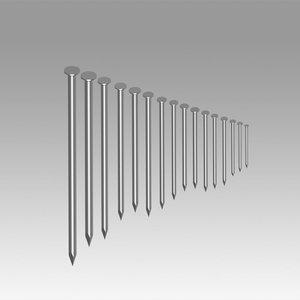 3D nails model