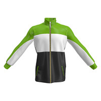 3D fleece jacket model