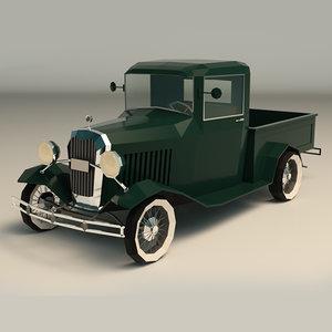 3D pickup vintage