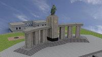 Soviet War Memorial in Tiergarten1