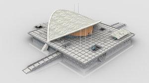 house world s cultures 3D model