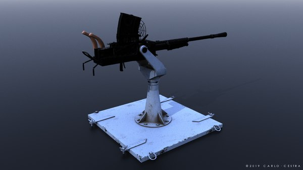 3D type gun japanese model