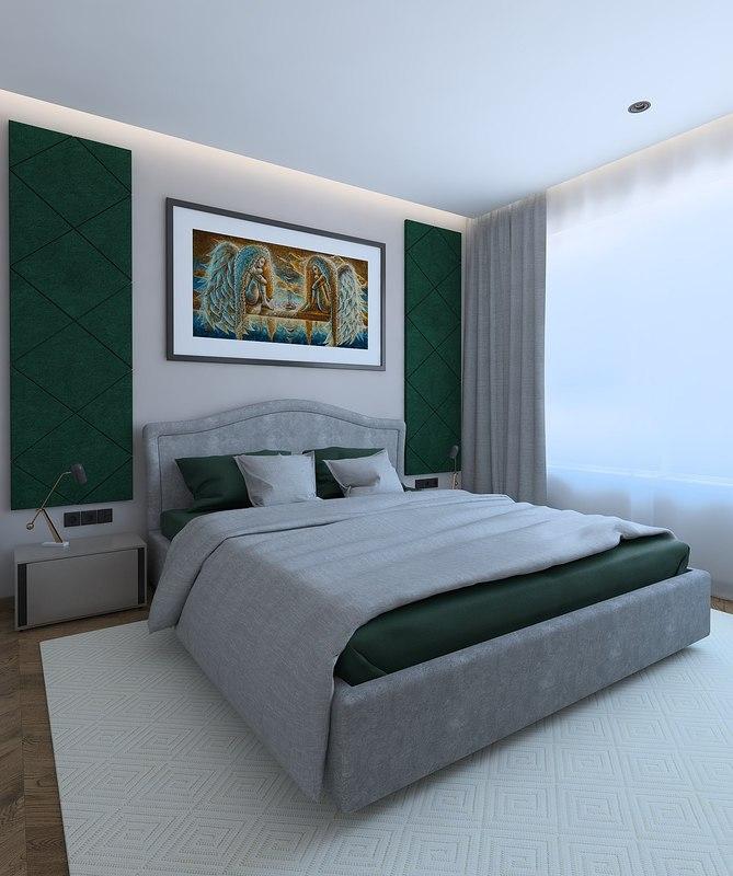 bedroom classic 3D model