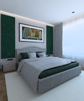 bedroom classic 3D model