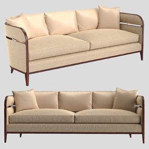 caracole seat sofa brackets 3D model
