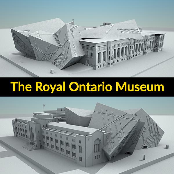 3D royal ontario museum build