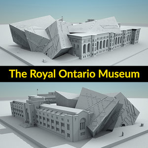 3D royal ontario museum build