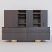 mimblack modern kitchen model