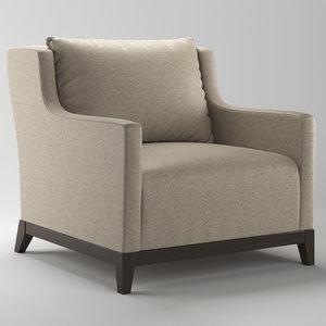 3D bolier kinkou seat armchair model