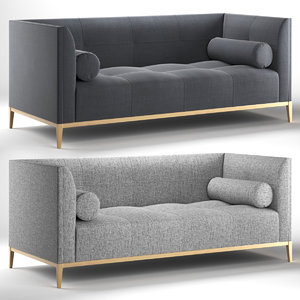 3D model michael reeves sofas connaught