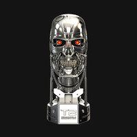 Terminator T-800 Skull Bust V2
