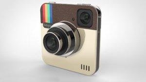 camera instagram model