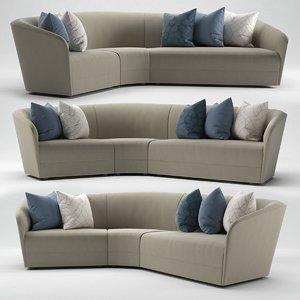 eaton sofa michael reeves 3D model