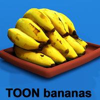 bananas games virtual 3D model