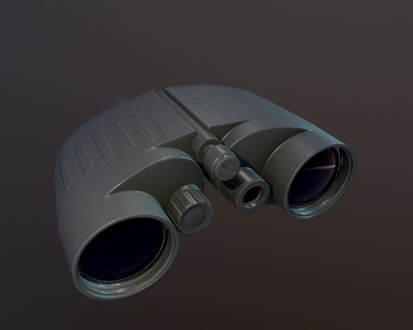 3D military binoculars