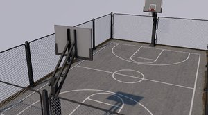 3D basketball stadium ball model