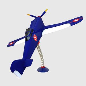 airplane plane 3D