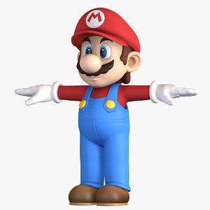3D super mario bros character