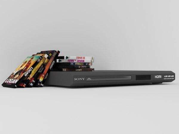dvd oynatc kapak 3D model