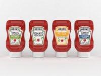 Ketchup Bottles Heinz
