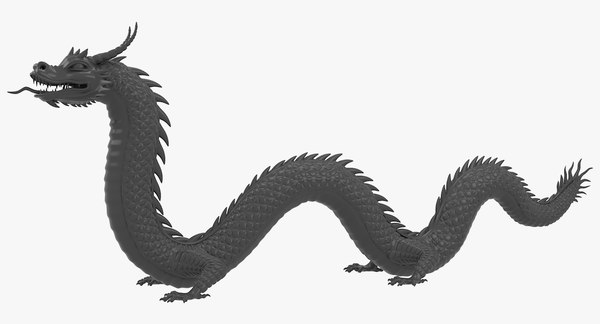 ad58f0f09 Chinese Dragon FBX Models for Download   TurboSquid