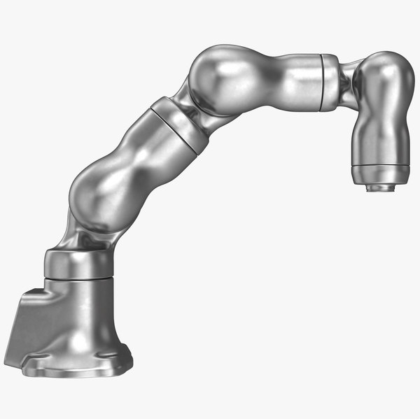 metal pharmaceutical robot arm 3D model