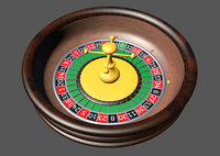 3D roulette wheel
