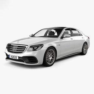 3D mercedes-benz s-class s model