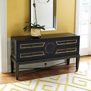 sideboard black gold model