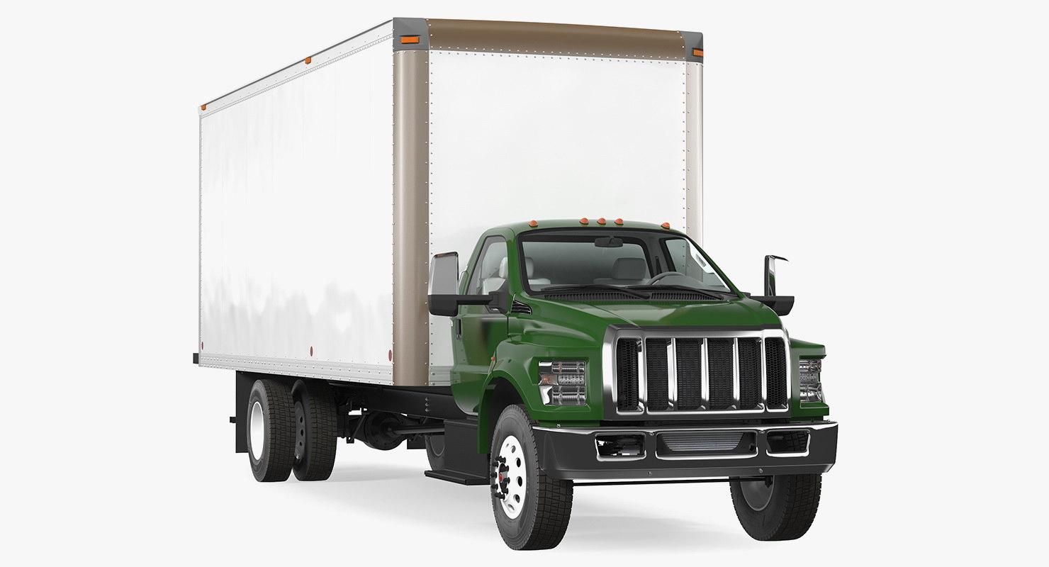 straight truck vehicle generic model