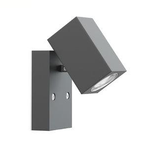 black wall halogen 3D