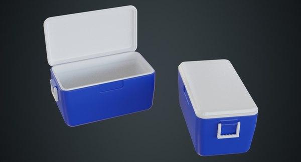 cooler contains 3D model