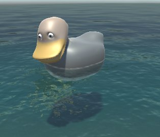 3D model duck animations