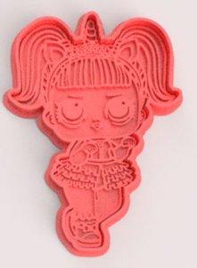 lol doll cookie cutters 3D model
