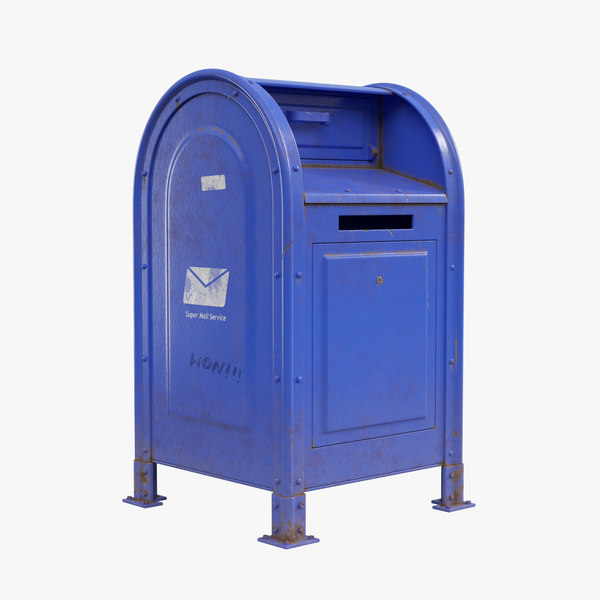 mailbox mail 3D model