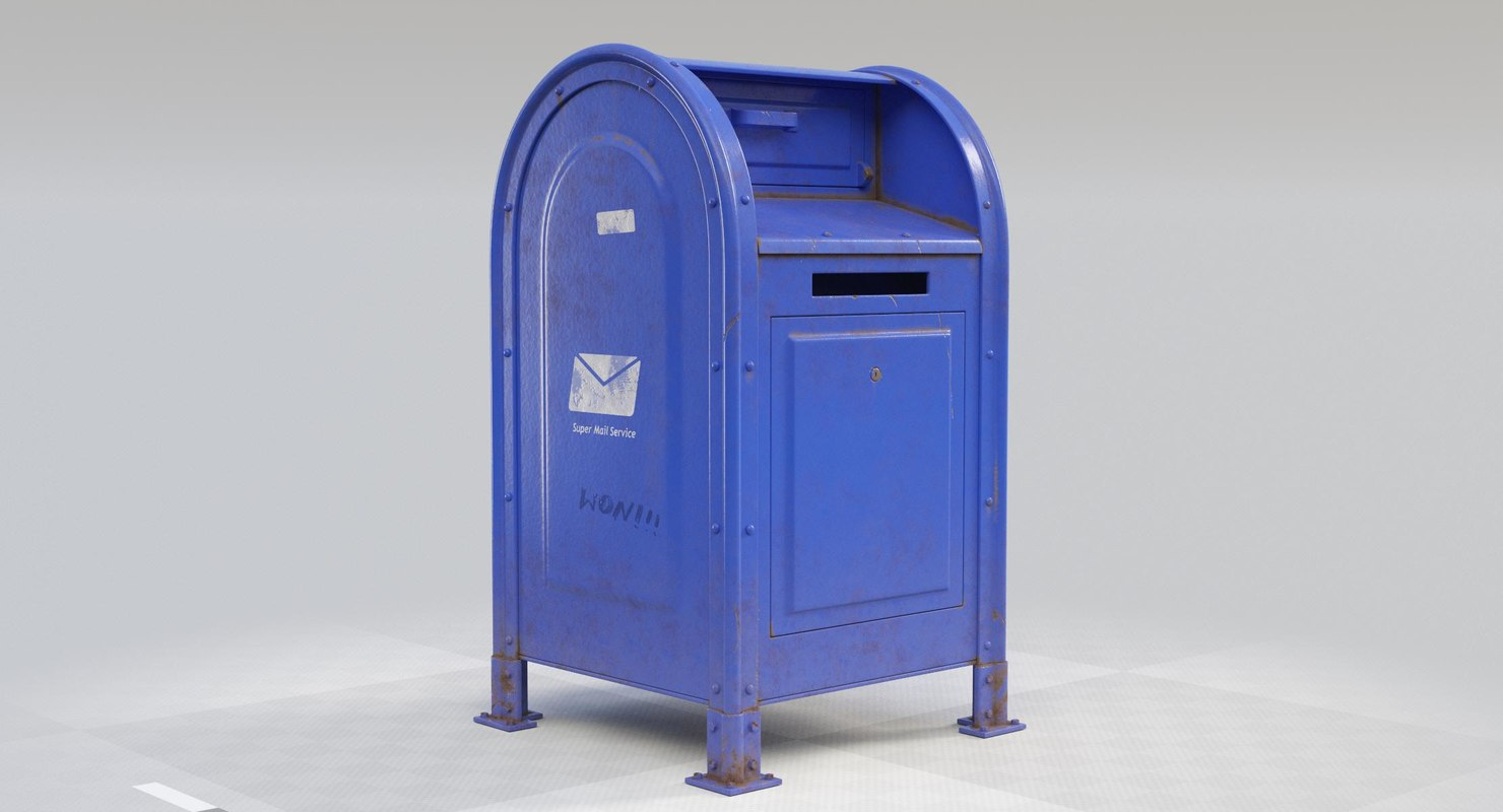 mailbox mail 3D model