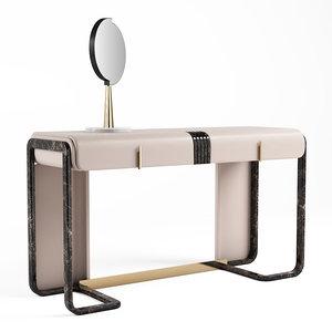 3D turri eclipse dressing table