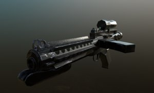 gun e-11 blaster ready 3D