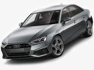 3D audi a4 sedan