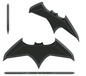 3D model batman batarang