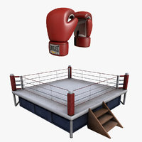 boxing ring pack model