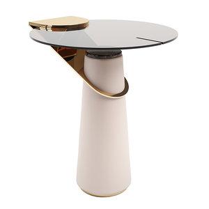 turri eclipse table glass 3D